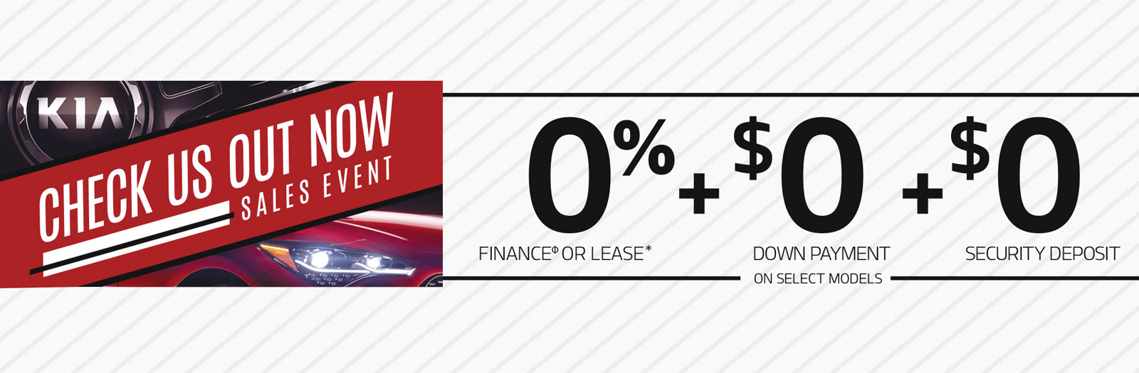 Check Us Out Now Sales Event Peterborough Kia